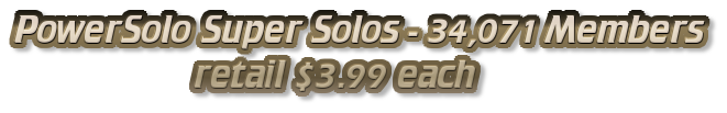 PowerSolo Super Solos - 34,071 Members