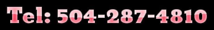 Tel: 504-287-4810