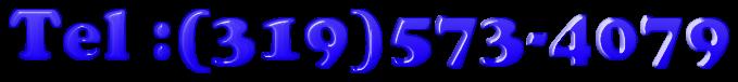 Tel :(319)573-4079