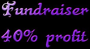 Fundraiser 40% profit