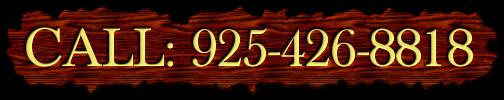 CALL: 925-426-8818
