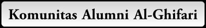 Komunitas Alumni Al-Ghifari