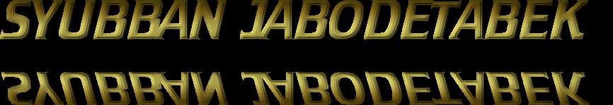 SYUBBAN JABODETABEK