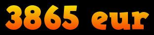 3865 eur