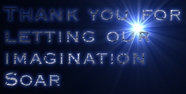 Thank you for<br />letting our<br />imagination<br />Soar