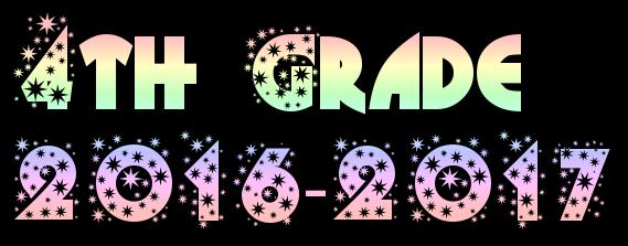 4th Grade 2016-2017