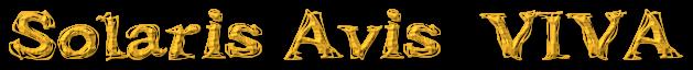 Solaris Avis  VIVA