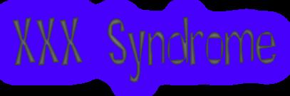 Triple X Syndrome Diagram
